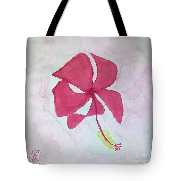 Key West Hibiscus Tote Bag