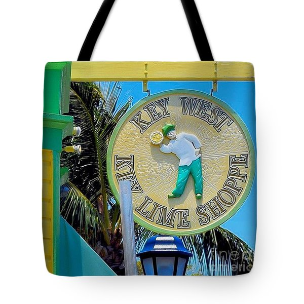 Key West Key Lime Shoppe Tote Bag