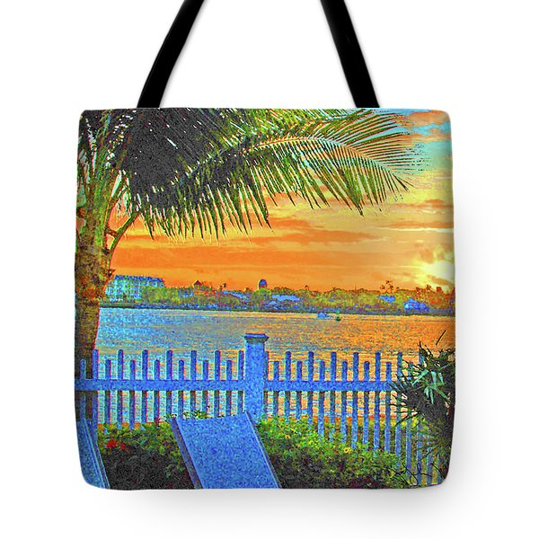 Key West Life Style Tote Bag
