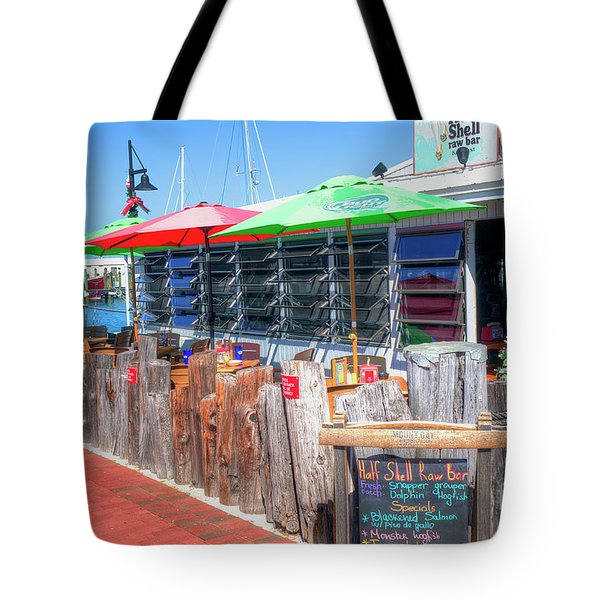 Key West Raw Bar Tote Bag