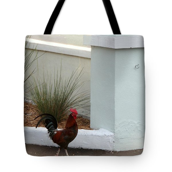 Key West Street Walker Tote Bag