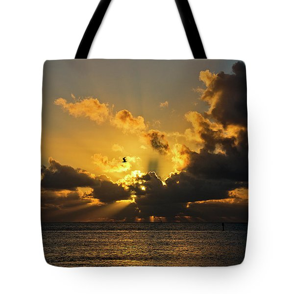 Key West Sunrise 39 Tote Bag