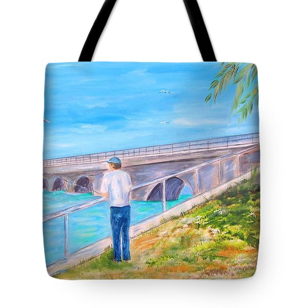 Keys Fishin' Tote Bag