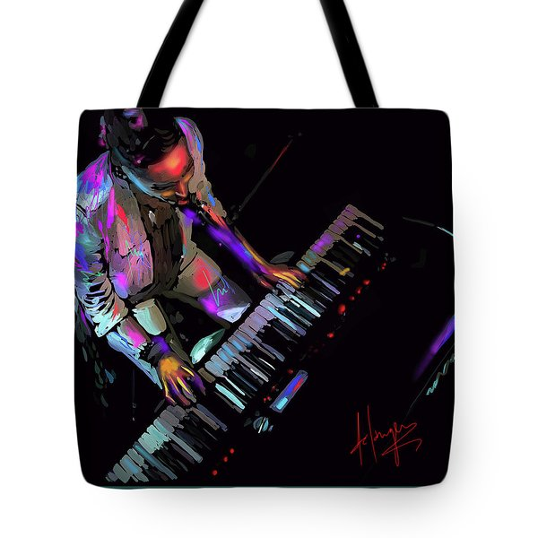 Keys From Above Tote Bag