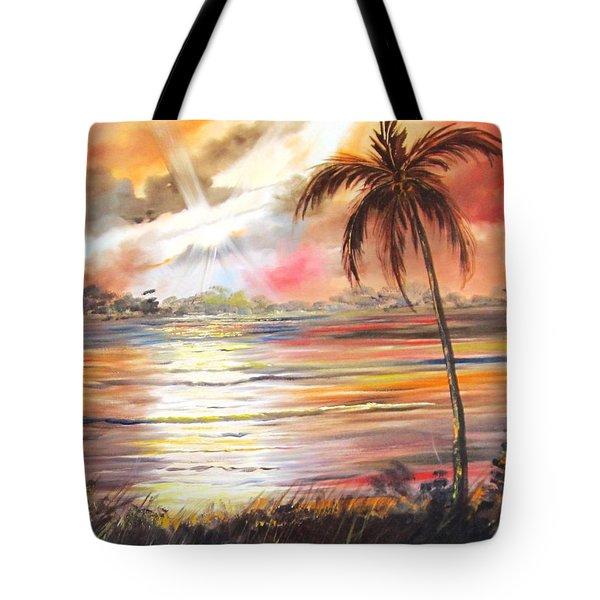 Keys Sunrise, Sunset Tote Bag