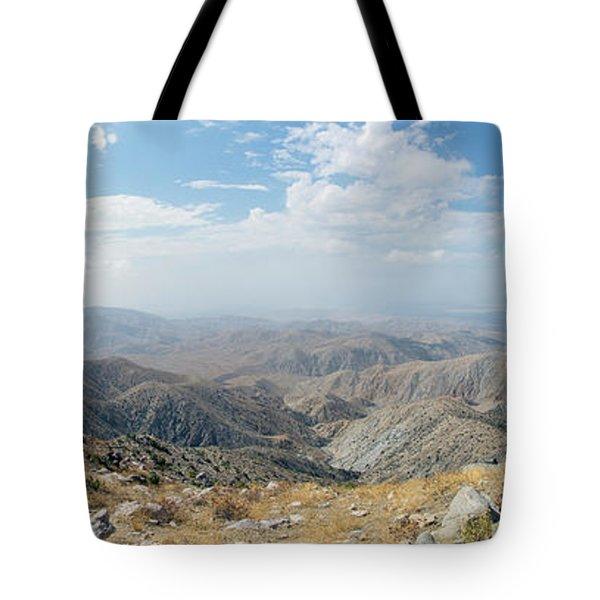 Keys View In Joshua Tree National Park Tote Bag
