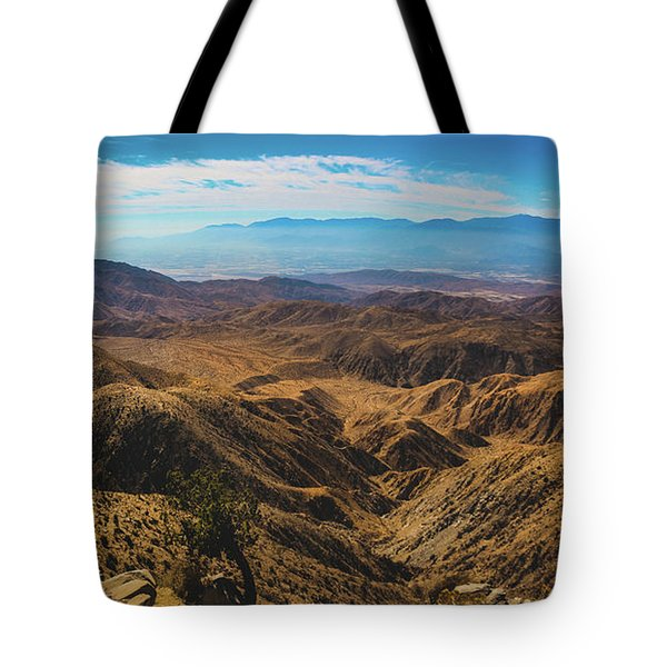 Keys View Overlook Panorama Tote Bag