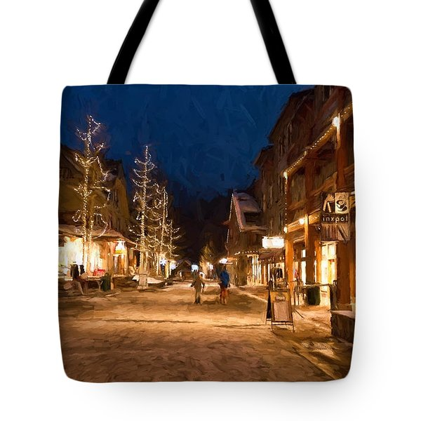 Keystone Village Tote Bag