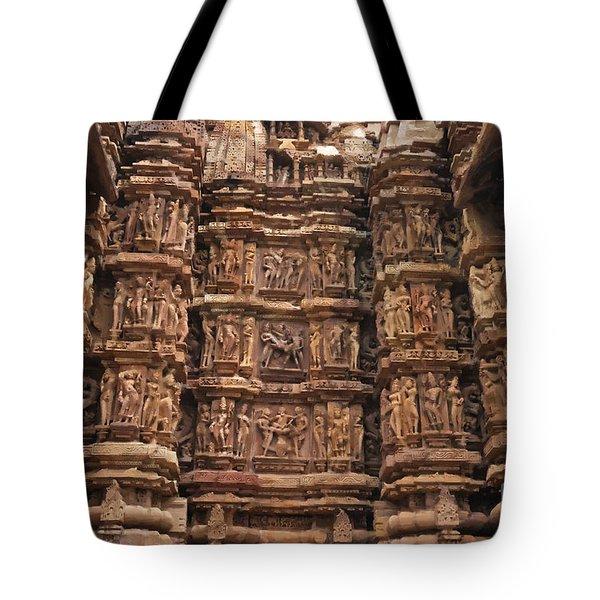 Khajuraho Temples 2 Tote Bag