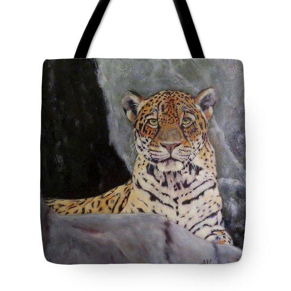 Khensu,  Jaguar Tote Bag