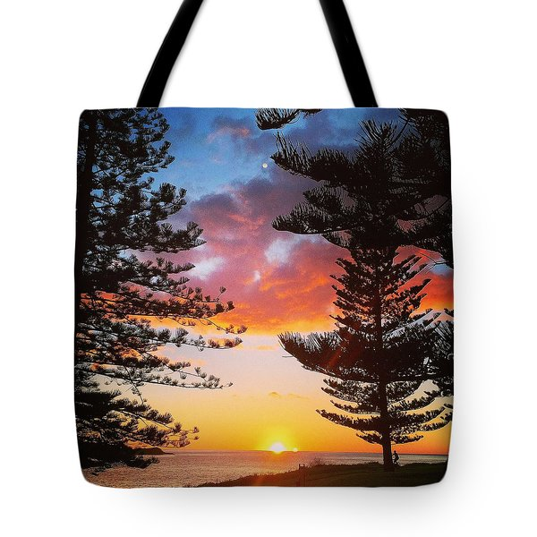 Kiama Sunrise Tote Bag