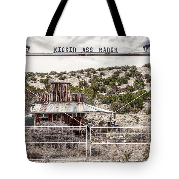 Kickin Ass Ranch Tote Bag