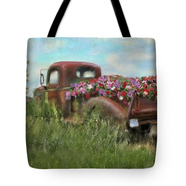 Kicks On Route 66 Tote Bag by Colleen Taylor