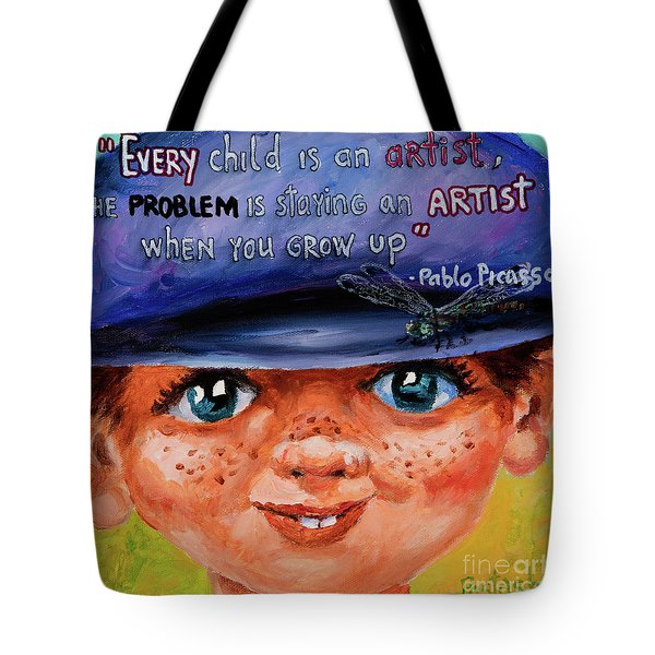Kid Tote Bag by Igor Postash