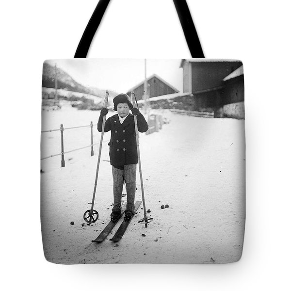 Kid Skating  Tote Bag