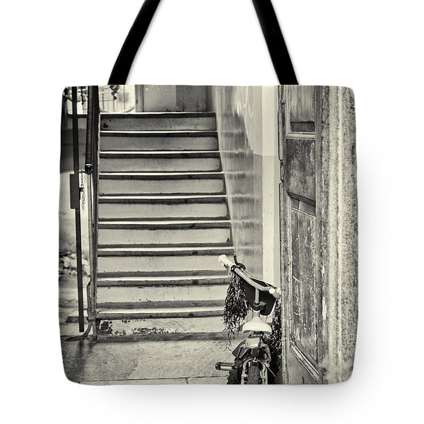 Kid's Bike Tote Bag by Silvia Ganora