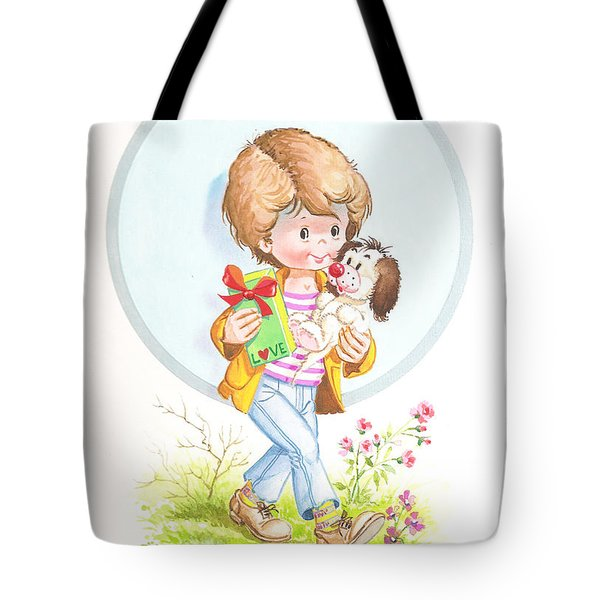 My Love As A Present Tote Bag