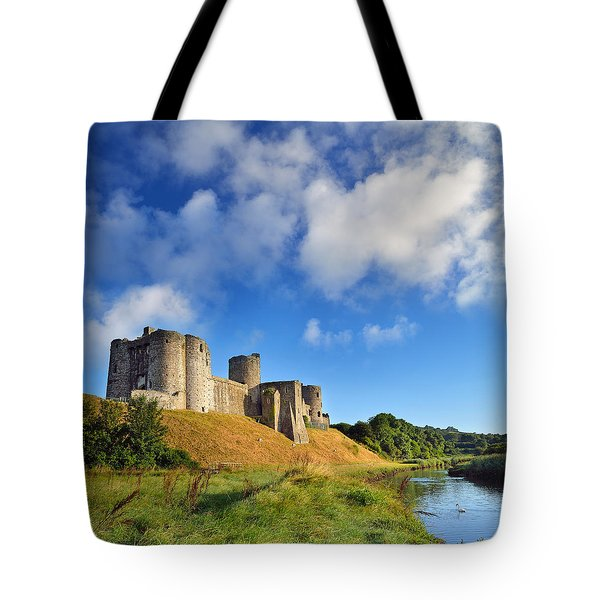 Kidwelly Castle 1 Tote Bag