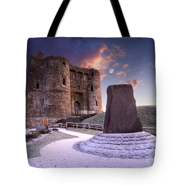Kidwelly Castle 2 Tote Bag
