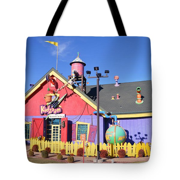 Kidzam Tote Bag by Bill Dutting