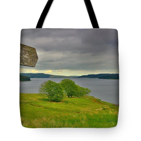 Kielder Water Northumberland Tote Bag