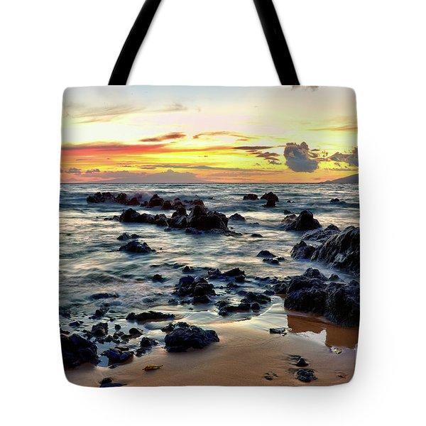 Kihei Sunset 2 Tote Bag