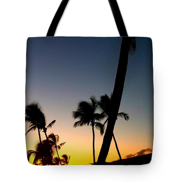 Kihei Sunset Tote Bag