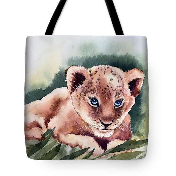 Kijani The Lion Cub Tote Bag
