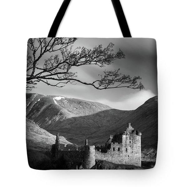 Kilchurn Castle Tote Bag
