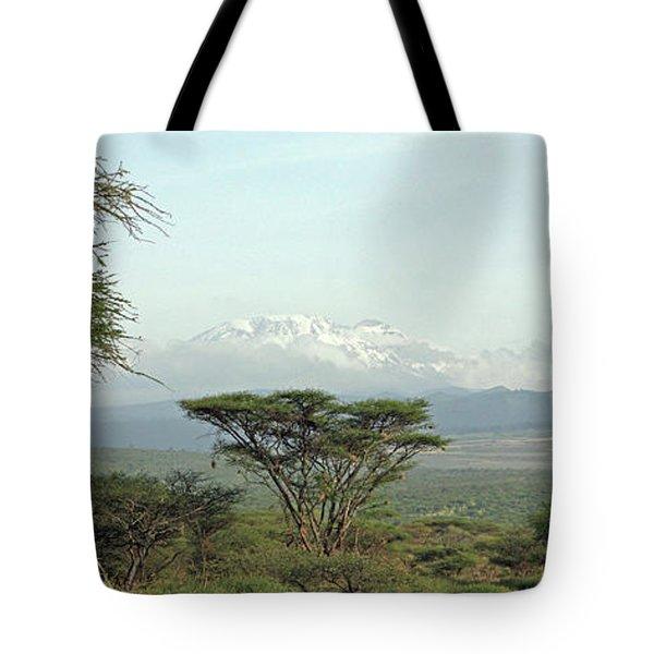 Kilimanjaro Tote Bag