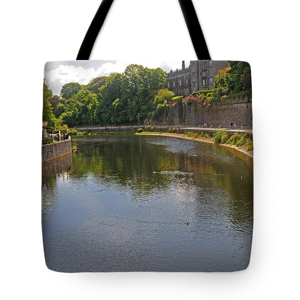 Kilkenny Castle And River Nore Tote Bag