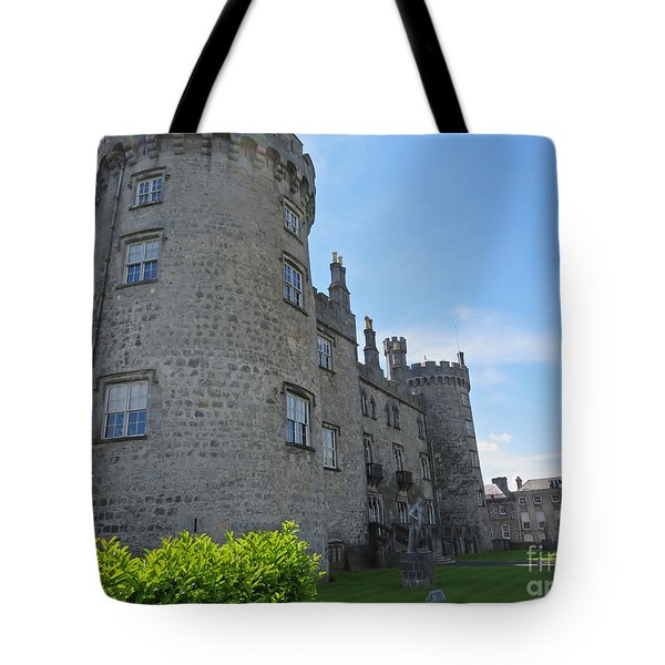 Kilkenny Castle Day 9 Tote Bag by Cindy Murphy - NightVisions