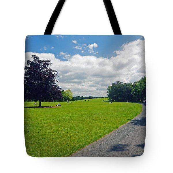 Kilkenny Castle Grounds Tote Bag