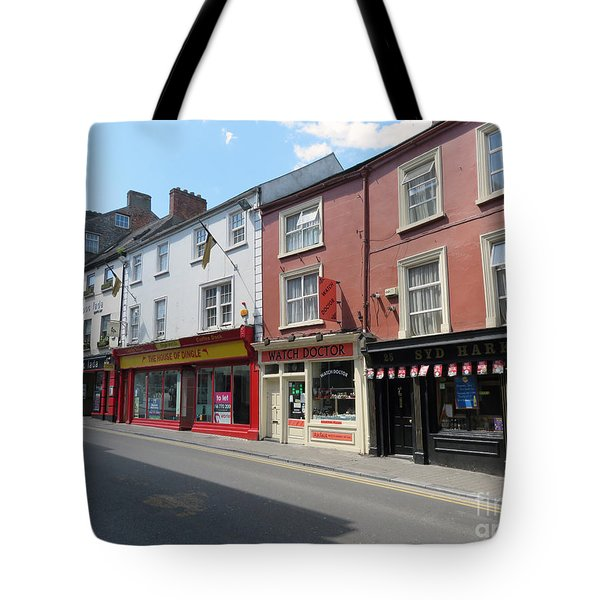 Kilkenny Ireland Tote Bag by Cindy Murphy - NightVisions