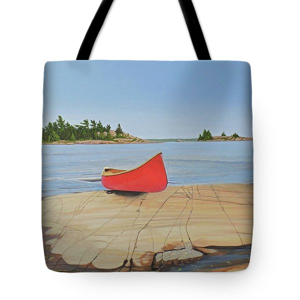 Killarney Canoe Tote Bag