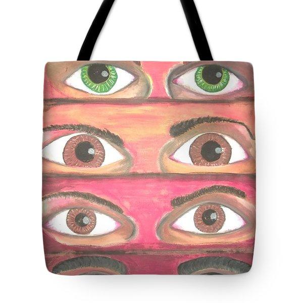 Killer Eyes Tote Bag