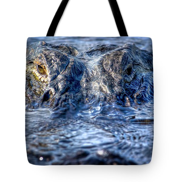 Tote Bag featuring the photograph Killer Instinct by Mark Andrew Thomas