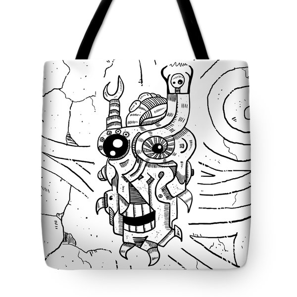 Killer Robot Tote Bag