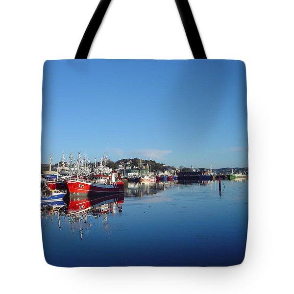 Killeybeggs Harbor Tote Bag