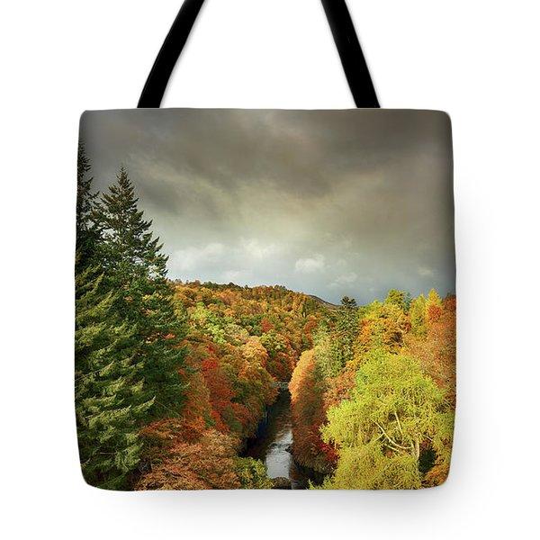Killiecrankie Autumn Tote Bag