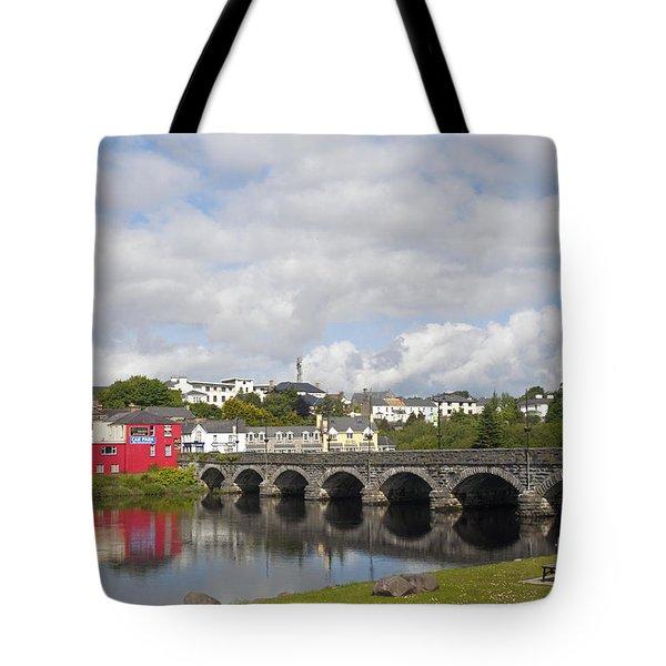 Killorglin Bridge Tote Bag