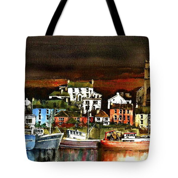 Killybegs Harbour, Donegal. Tote Bag
