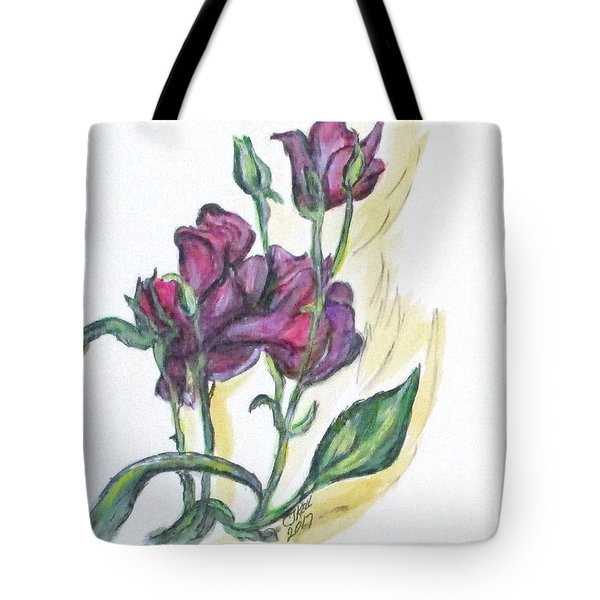 Kimberly's Spring Flower Tote Bag