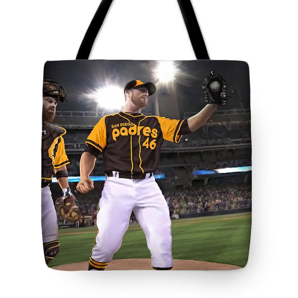 Tote Bag featuring the photograph Kimbrel In Relief by Don Olea