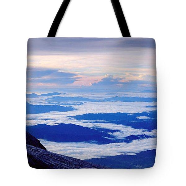 Kinabalu Panorama Tote Bag