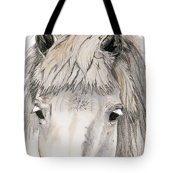 Tote Bag featuring the painting Kind Eyes by Shari Nees