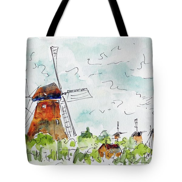 Kindersdijk Netherlands Tote Bag