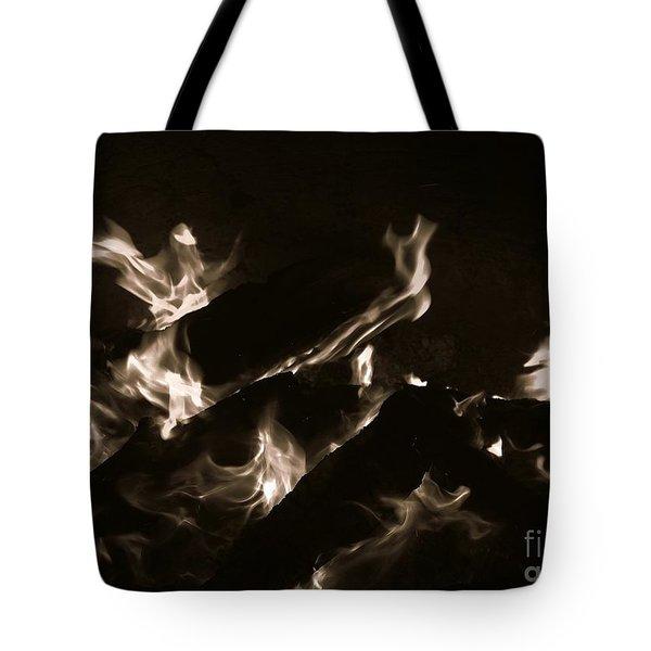 Kindled Symphony  Tote Bag