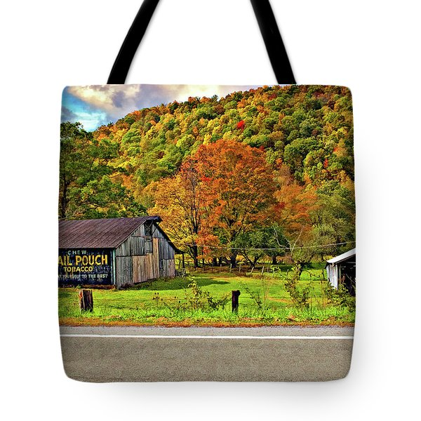 Kindred Barns Tote Bag