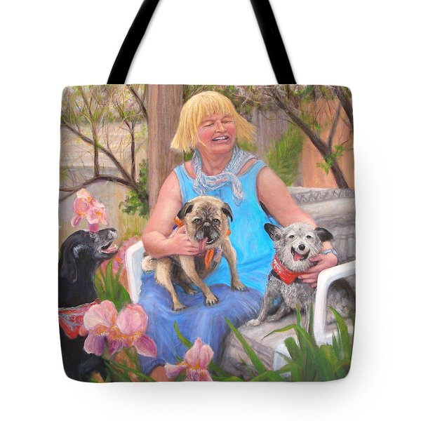 Kindred Spirits Tote Bag by Donelli  DiMaria